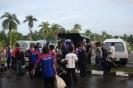 Loading the vans
